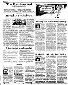 Syracuse Post Standard, February 06, 2005, Page 47