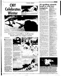 Syracuse Post Standard, February 06, 2005, Page 25