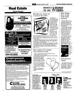 Syracuse Post Standard, February 07, 2005, Page 44