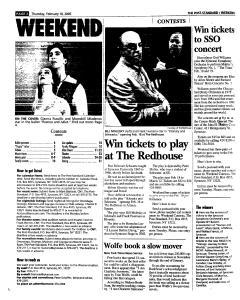 Syracuse Post Standard, February 10, 2005, Page 49