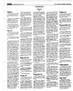 Syracuse Post Standard, February 10, 2005, Page 102