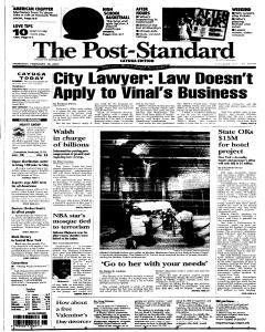 Syracuse Post Standard, February 10, 2005, Page 270