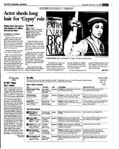Syracuse Post Standard, February 10, 2005, Page 52