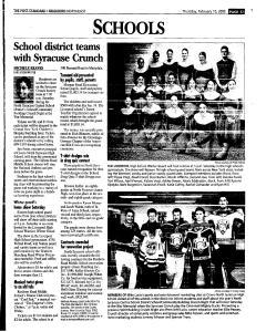 Syracuse Post Standard, February 10, 2005, Page 131