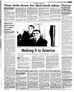 Syracuse Post Standard, February 10, 2005, Page 326