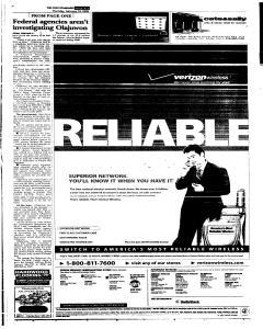 Syracuse Post Standard, February 10, 2005, Page 3