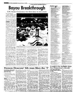 Syracuse Post Standard, February 11, 2005, Page 30