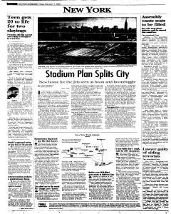 Syracuse Post Standard, February 11, 2005, Page 74