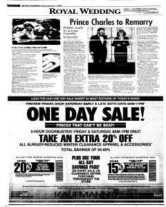 Syracuse Post Standard, February 11, 2005, Page 82