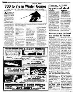 Syracuse Post Standard, February 11, 2005, Page 108