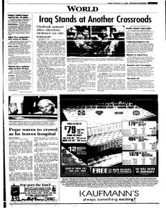 Syracuse Post Standard, February 11, 2005, Page 79