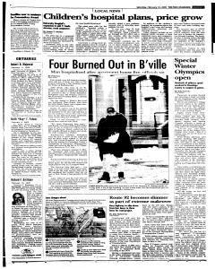 Syracuse Post Standard, February 12, 2005, Page 112