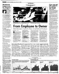 Syracuse Post Standard, February 13, 2005, Page 52