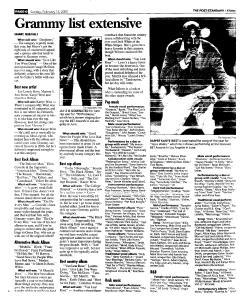 Syracuse Post Standard, February 13, 2005, Page 117