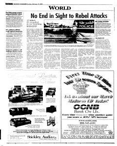 Syracuse Post Standard, February 13, 2005, Page 289