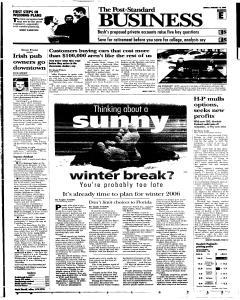 Syracuse Post Standard, February 13, 2005, Page 51