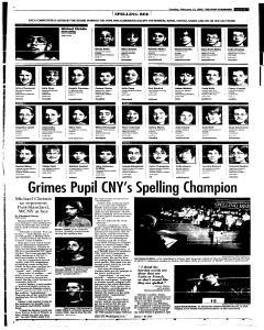Syracuse Post Standard, February 13, 2005, Page 29