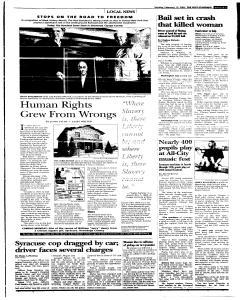 Syracuse Post Standard, February 13, 2005, Page 308