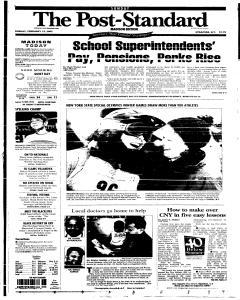 Syracuse Post Standard, February 13, 2005, Page 256