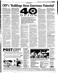 Syracuse Post Standard, February 13, 2005, Page 35