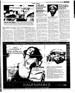 Syracuse Post Standard, February 13, 2005, Page 244