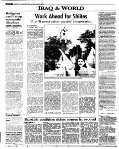 Syracuse Post Standard, February 14, 2005, Page 4