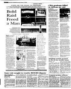 Syracuse Post Standard, February 14, 2005, Page 12