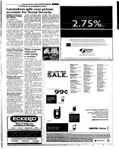 Syracuse Post Standard, February 14, 2005, Page 3