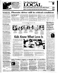 Syracuse Post Standard, February 14, 2005, Page 11