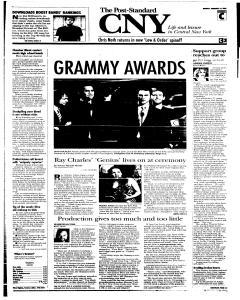 Syracuse Post Standard, February 14, 2005, Page 17