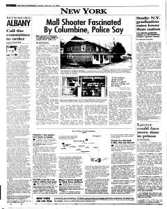 Syracuse Post Standard, February 15, 2005, Page 6