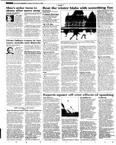 Syracuse Post Standard, February 15, 2005, Page 32