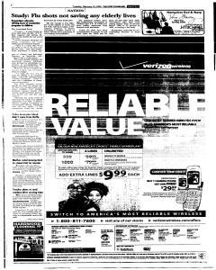 Syracuse Post Standard, February 15, 2005, Page 65