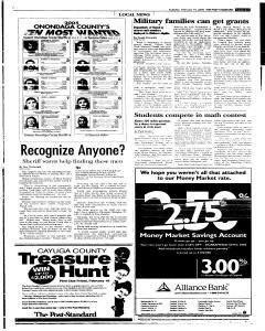 Syracuse Post Standard, February 15, 2005, Page 91