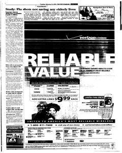 Syracuse Post Standard, February 15, 2005, Page 3
