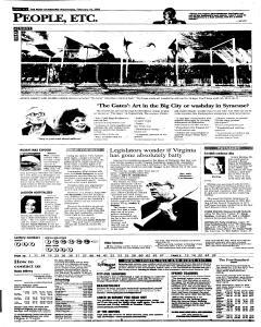 Syracuse Post Standard, February 16, 2005, Page 106