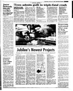 Syracuse Post Standard, February 16, 2005, Page 81
