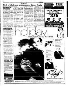 Syracuse Post Standard, February 16, 2005, Page 87