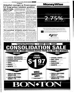 Syracuse Post Standard, February 16, 2005, Page 107