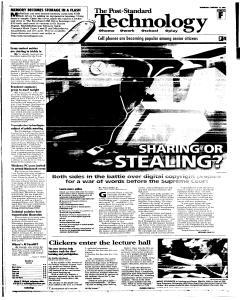 Syracuse Post Standard, February 16, 2005, Page 43