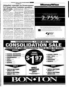 Syracuse Post Standard, February 16, 2005, Page 63