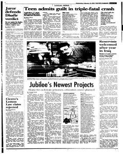 Syracuse Post Standard, February 16, 2005, Page 125