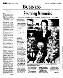 Syracuse Post Standard, February 17, 2005, Page 94