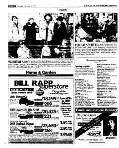 Syracuse Post Standard, February 17, 2005, Page 124