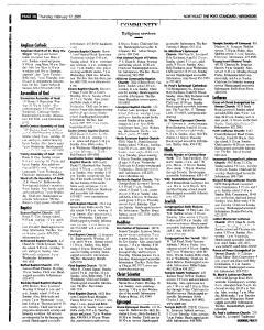 Syracuse Post Standard, February 17, 2005, Page 144