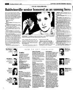 Syracuse Post Standard, February 17, 2005, Page 152