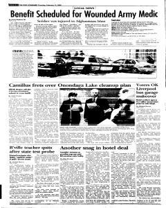 Syracuse Post Standard, February 17, 2005, Page 264