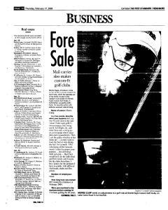Syracuse Post Standard, February 17, 2005, Page 314