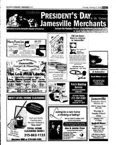 Syracuse Post Standard, February 17, 2005, Page 85