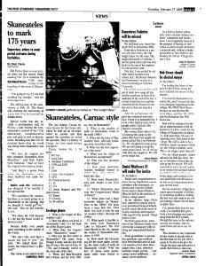 Syracuse Post Standard, February 17, 2005, Page 221